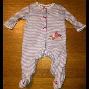 Baby Girl's Sleeping Onesie Size 6M